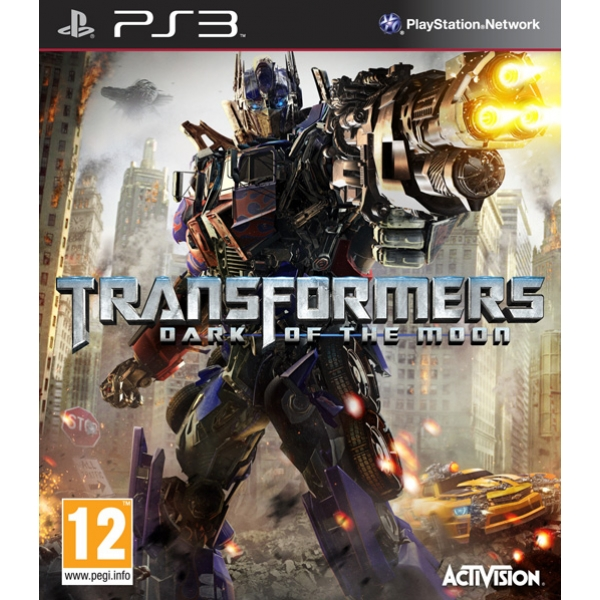 TRANSFORMERS DARK OF THE MOON - PS3