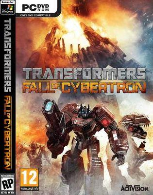 TRANSFORMERS FALL OF CYBERTRON PC