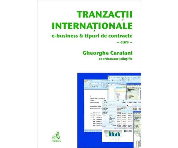 TRANZACTII INTERNATIONA LE. E-BUSINESS SI TIPUR