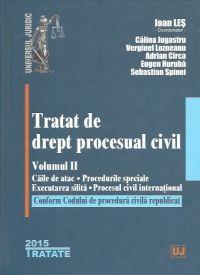 TRATAT DE DREPT PROCESUAL CIVIL, VOL II