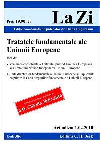 TRATATELE FUNDAMENTALE ALE ALE UNIUNII EUROPEN