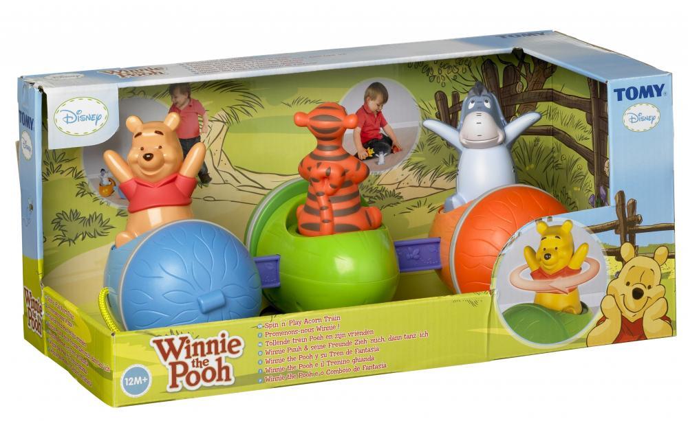 Trenul fantezie al lui Winnie