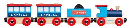 Trenulet City,lemn,Janod