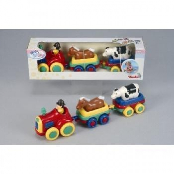 Trenulet cu animele de la ferma