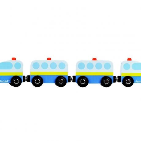 Trenulet magnetic Pompieri