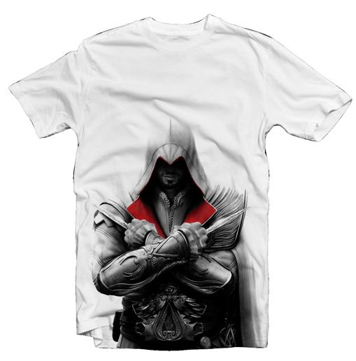 AC - Brotherhood T-Shirt - Ezio II, L