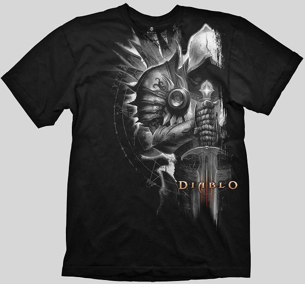 Diablo III T-Shirt - Tyrael , Black, L