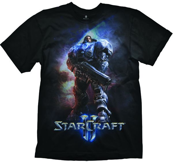 Starcraft II T-Shirt - Raynor, black, M
