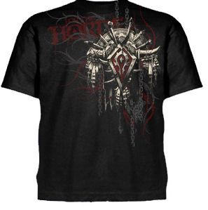 WOW T-Shirt Horde Crest New, M