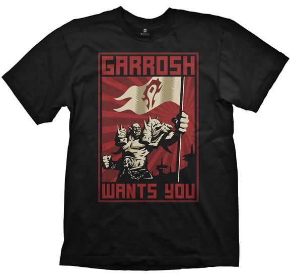 WOW T-Shirt - Garrosh Wants You,L