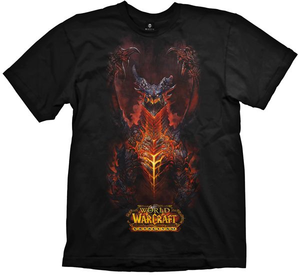 WOW T-Shirt -Cataclysm- Deathwing, L