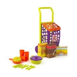 Troller cumparaturi cu accesorii