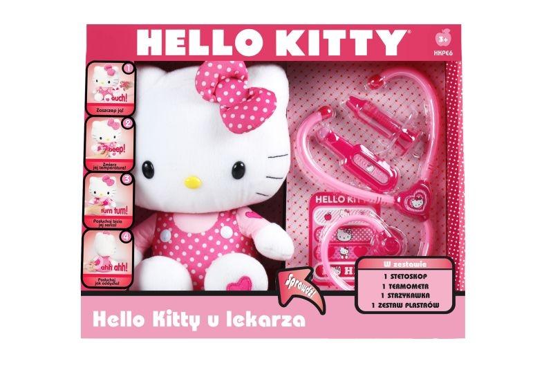 Trusa medic Hello Kitty cu plus