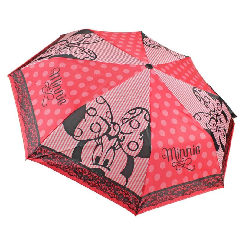 Umbrela pliabila 51cm,Minnie,Lace