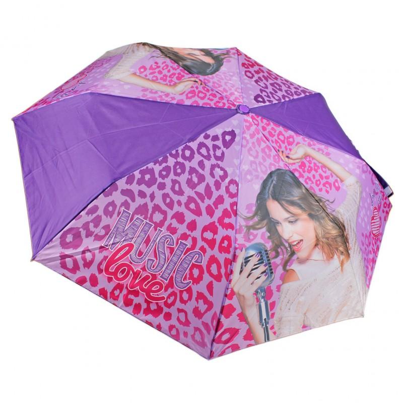 Umbrela pliabila 51cm,Violetta