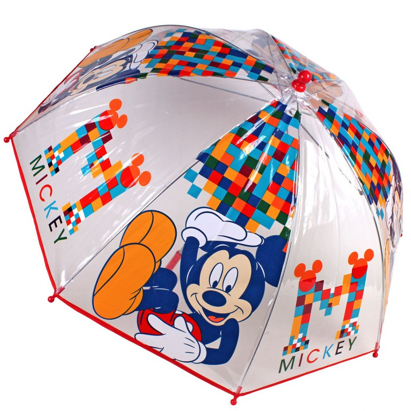 Umbrela tranparenta 45cm,Mickey