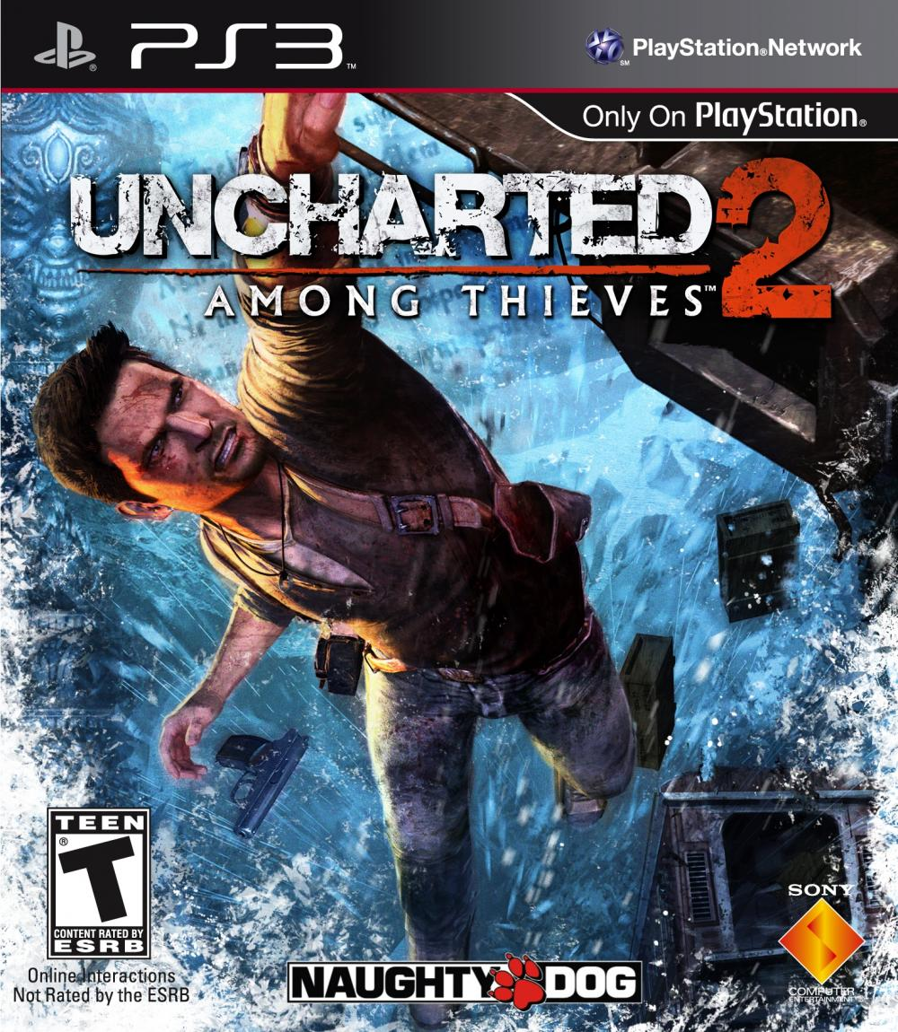 UNCHARTED 2 AMONG THIEV PLATINUM - PS3