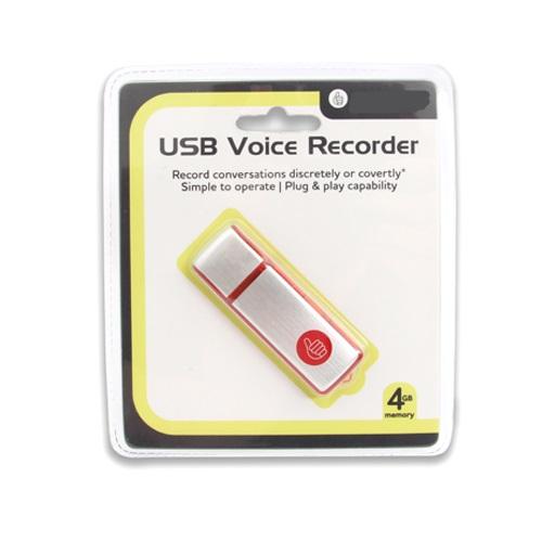 USB Voice Recorder 4 GB