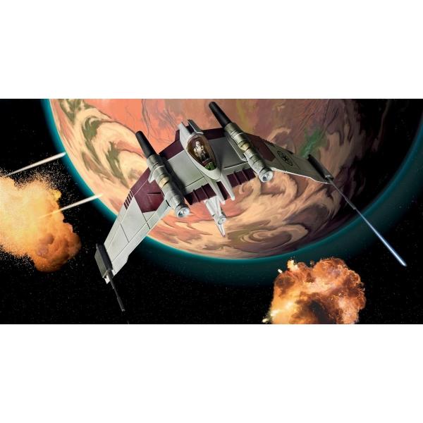 V-19 Torrent Starfighter - seria Clone Wars, 30 pcs.