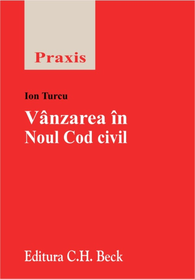 VANZAREA IN NOUL COD CIVIL