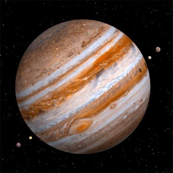 Vedere 3D, Jupiter