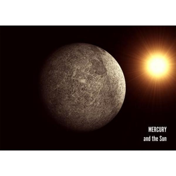 Vedere 3D, Mercur si Soarele