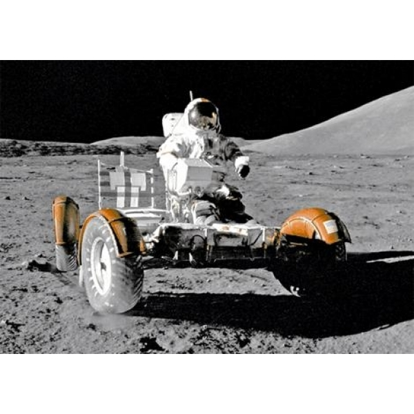 Vedere 3D, Vehicul pe Luna