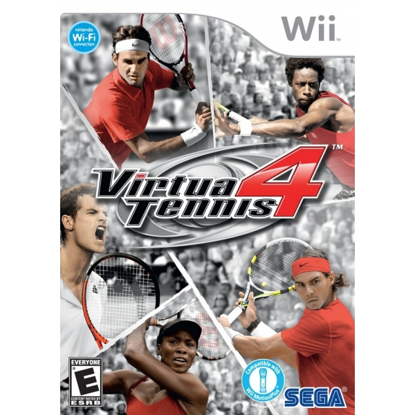 VIRTUA TENNIS 4  - WII