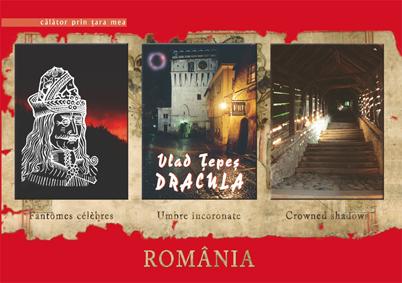 Vlad Tepes Dracula. Umbre incoronate / Fantomes celebres / Crowned shadows - Andreescu Florin