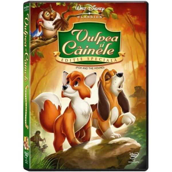 VULPEA SI CAINELE FOX AND THE HOUND