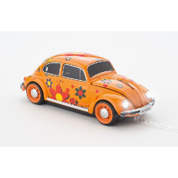 "Mosu VW Beetle ""Flower Power"" cu fir"