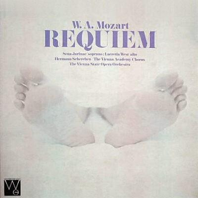 W.A.MOZART REQUIEM , SYMPHONY NO.4
