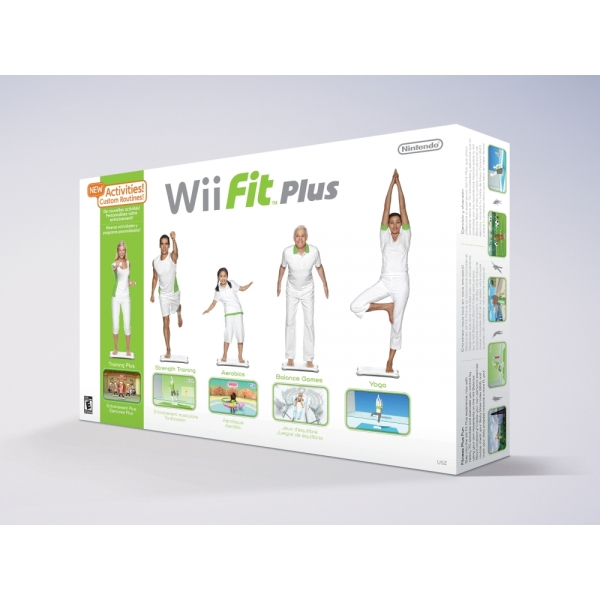WII FIT PLUS WITH BALAN WII