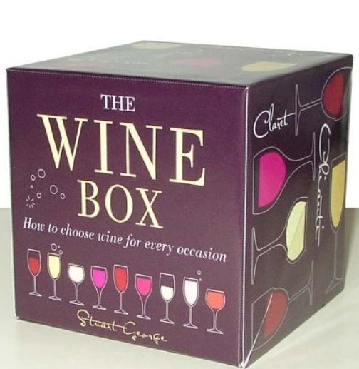 Wine box (book in a box) - Stuart George