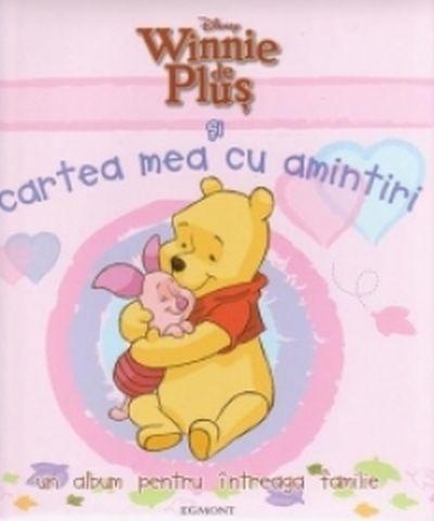 Winnie de Plus si cartea mea cu amintiri -coperta roz- Disney
