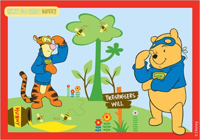zzCarpeta copii Winnie the Pooh 80x120 cm