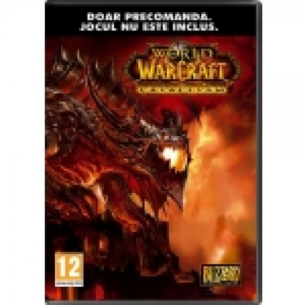 WORLD OF WARCRAFT CATACLYSM - PREORDER PC