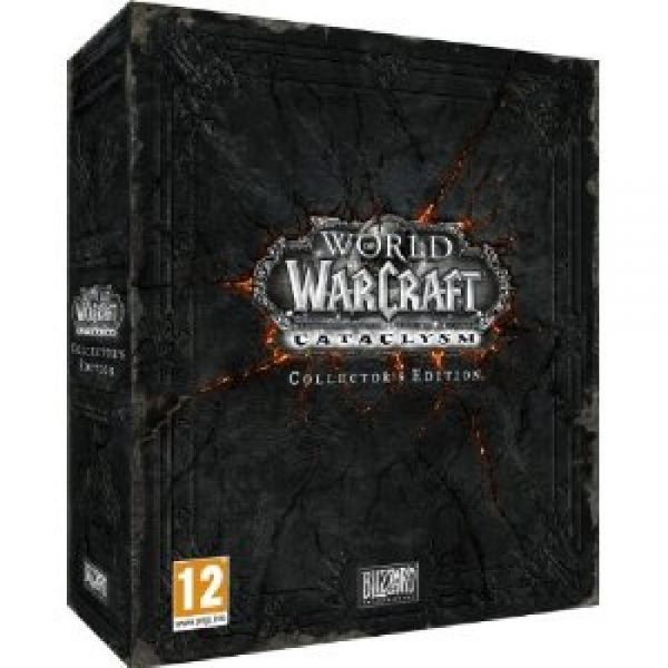 WOW CATACLYSM Collectors Edition PC