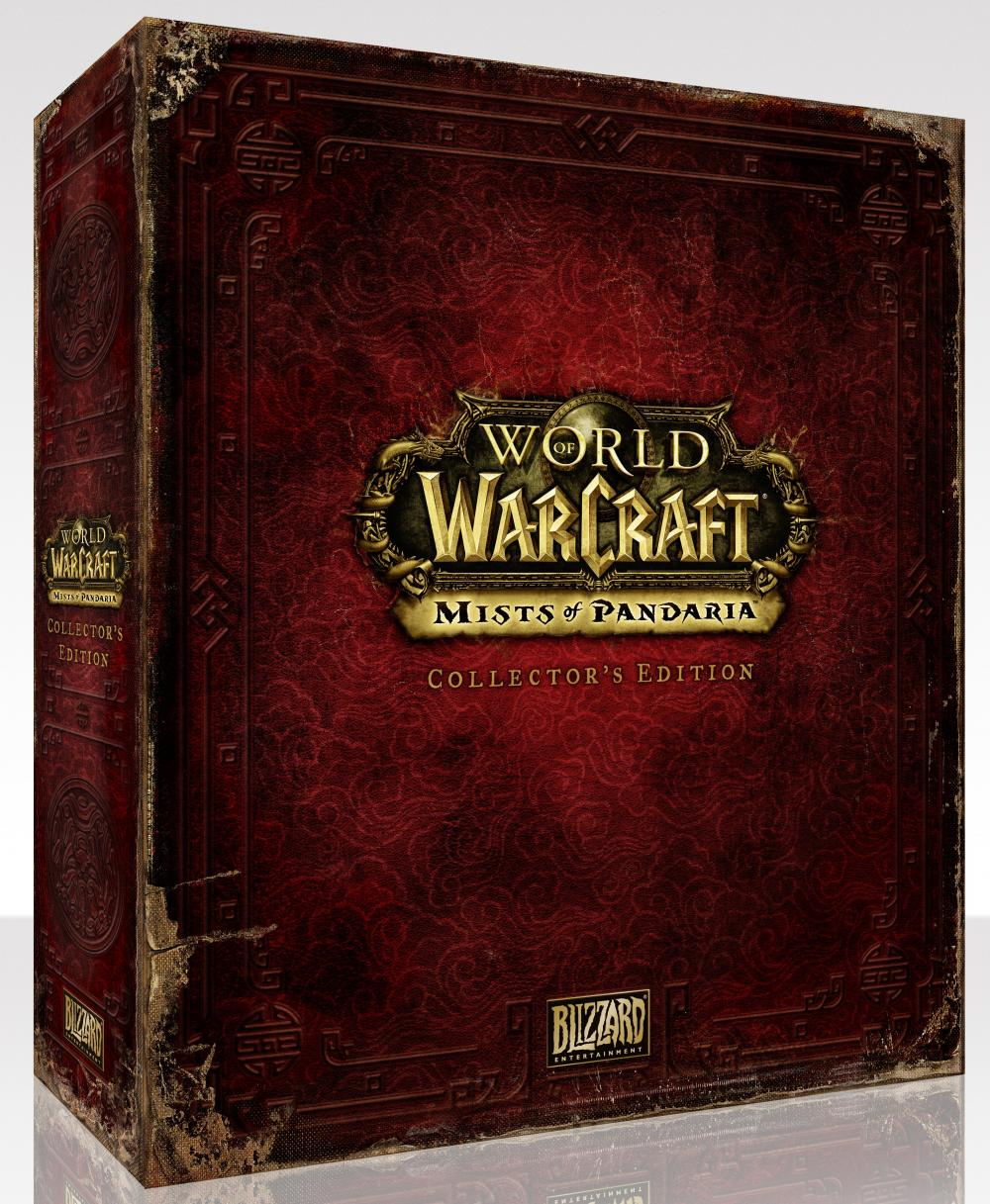WOW MISTS OF PANDARIA COLLECTORS EDITION PC