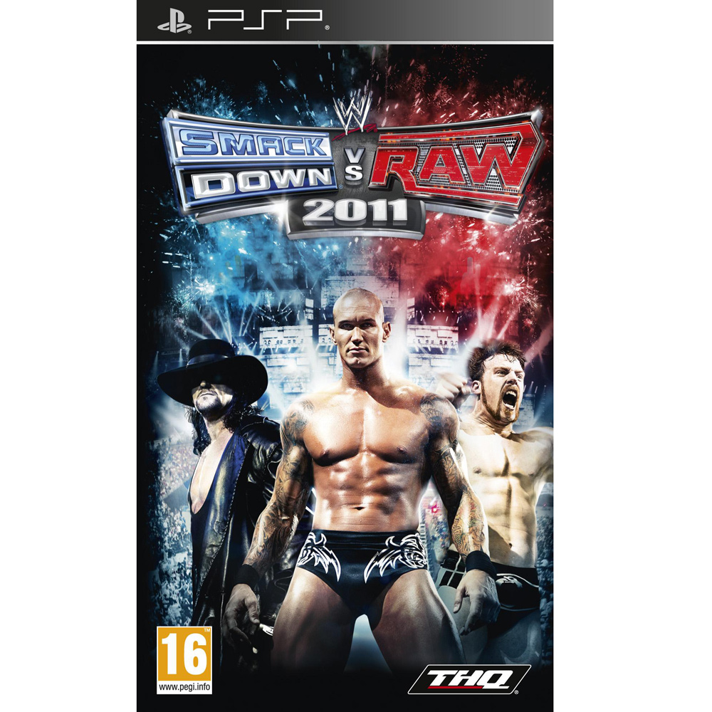 WWE SMACKDOWN VS. RAW 1 PSP
