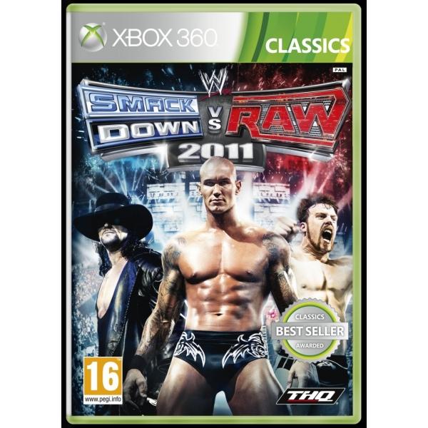 WWE SMACKDOWN VS. RAW 2011 CLASSICS - XBOX360