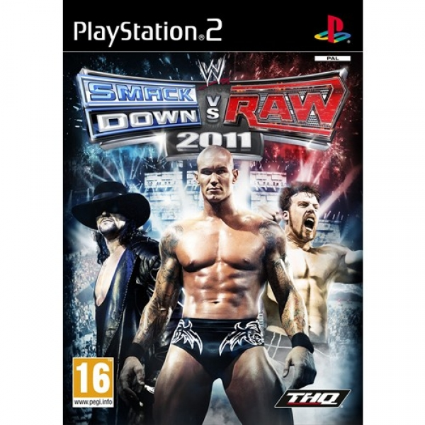 WWE SMACKDOWN VS. RAW 2011 PLATINUM - PS2