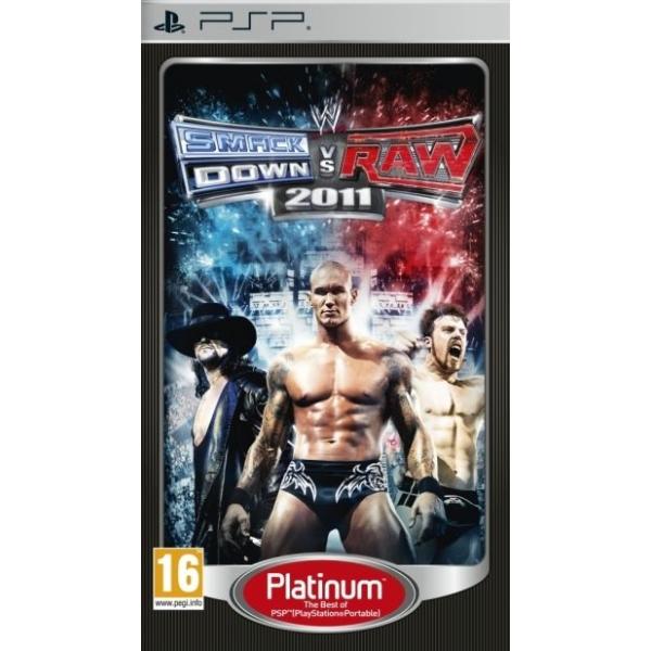 WWE SMACKDOWN VS. RAW 2011 PLATINUM - PSP