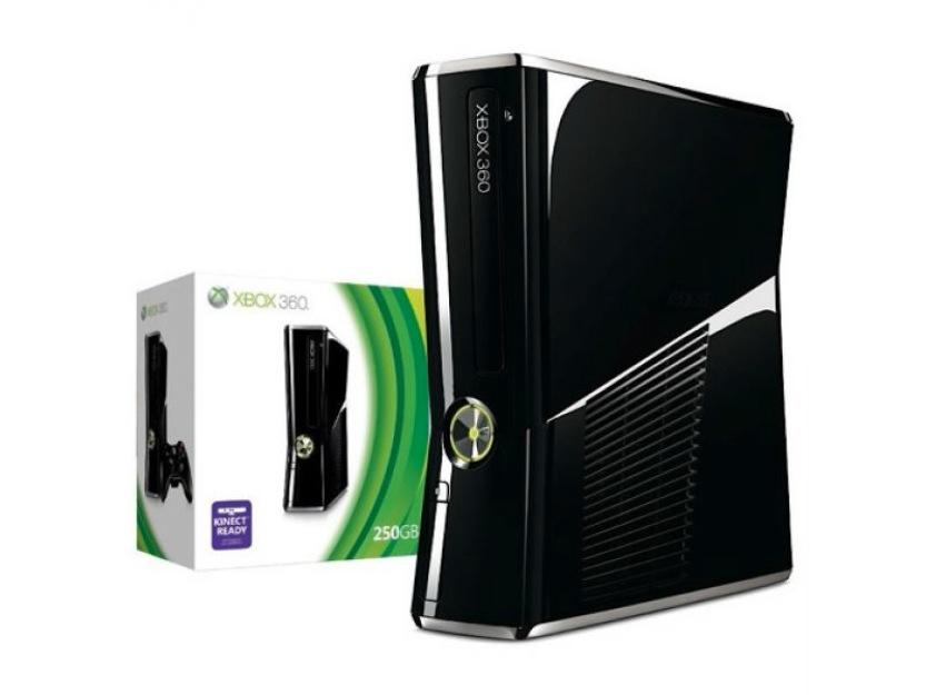 Xbox 360 Slimline Cons 250GB Hol Val Bud