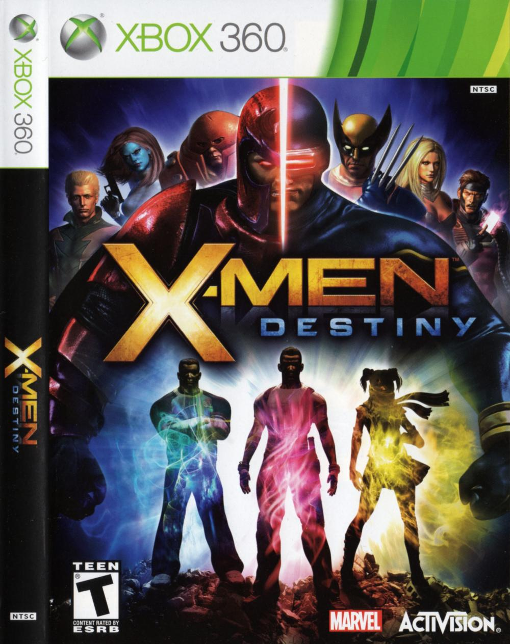 XMEN DESTINY - XBOX360