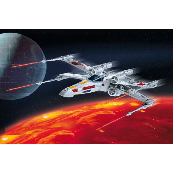X-Wing Fighter, 21 pcs.