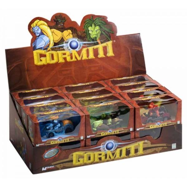 zzDisplay masini Gormiti, 40 pcs.