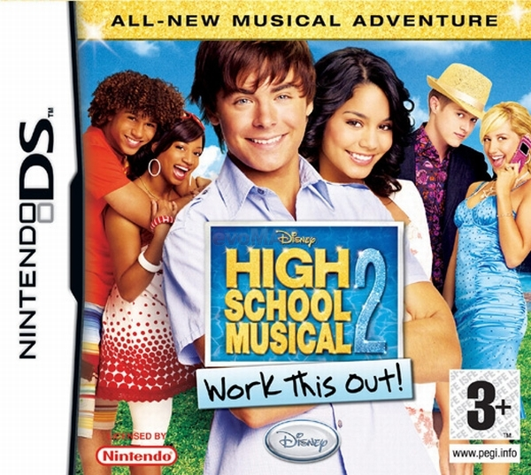 zzHIGH SCHOOL MUSICAL 2 WORK THIS OUT! DS