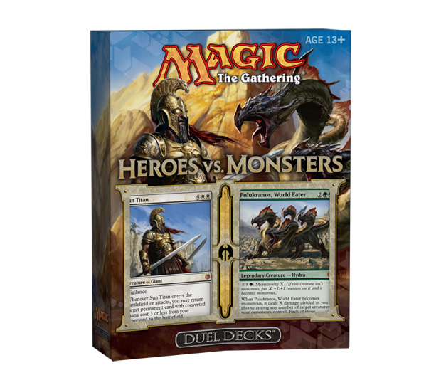 zzJoc Heroes vs Monsters Magic The Gathering