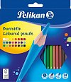 Creioane colorate Pelikan,24 buc/set